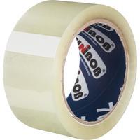 Клейкая лента упаковочная Unibob 50 мм x 66 м 47 мкм прозрачная (морозостойкая)