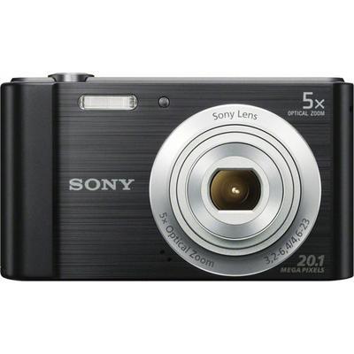 Цифровой компактный Фотоаппарат Sony DSC-W800/B черный