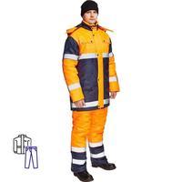 Костюм зимний Спектр-1 куртка и брюки (размер 60-62, рост 182-188)