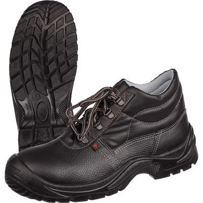 Ботинки Standart-М натуральная кожа черные с металлическим подноском размер 37