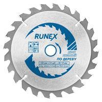 Диск пильный Runex по дереву 160х20/16 мм Z24 (551004)
