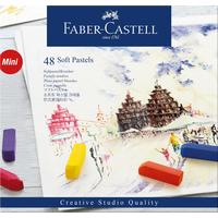 Пастель Faber-Castell Soft pastels сухая 48 цветов