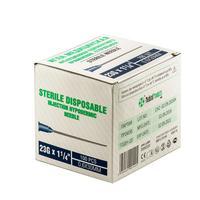Игла инъекционная SF-Medical 23G (0.6х30 мм, 100 штук в упаковке)
