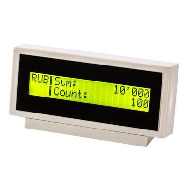 Дисплей для счетчика банкнот выносной Dors 85 жидкокристаллический (LCD)