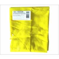 Тряпка для пола микрофибра 50х60 см желтая 180 г/кв.м