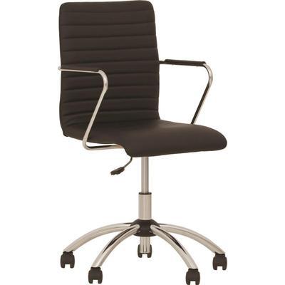 Кресло для руководителя Task GTP черное (экокожа, металл)