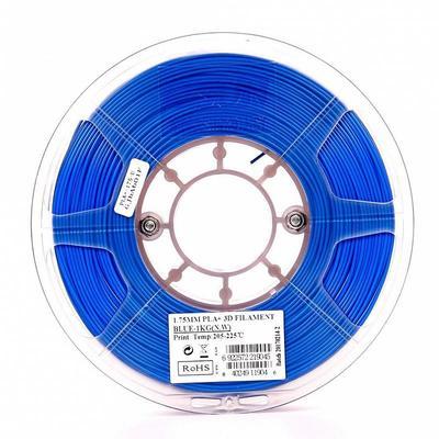 Пластик PLA+ для 3D-принтера ESUN синий 1.75 мм 1 кг