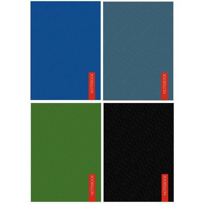 Блокнот Канц-Эксмо А6 40 листов в ассортименте в клетку на склейке (142х98 мм, БСК640 31-34)