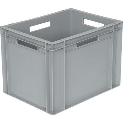 Ящик (лоток) универсальный полипропиленовый 400х300х290 мм серый