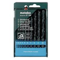 Набор сверел Metabo по металлу в пластиковом боксе 10 штук (артикул производителя 627158000)