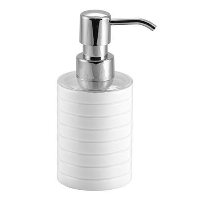 Дозатор для жидкого мыла Trento пластиковый 0.2 л белый