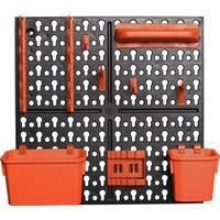 Панель инструментальная с наполнением 326х100х326 мм Blocker Expert BR3821
