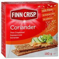 Хлебцы Finn Crisp Coriander бородинские с кориандром 180 г