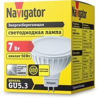 Лампа светодиодная Navigator 7 Вт GU5.3 рефлектор 4000 К нейтральный белый свет