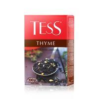 Чай Tess Thyme черный с чабрецом и лемоном 100 г