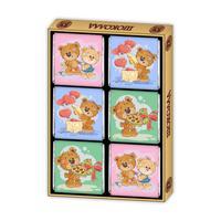 Подарочный набор порционного шоколада Глобус Про Мишки 60 г