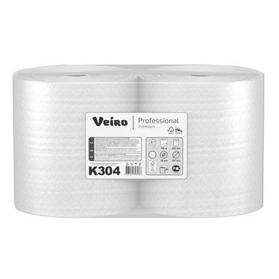 Полотенца бумажные в рулонах Veiro Professional A1/A2 (H1) Premium 2- слойные 6 рулонов по 150 метров (артикул производителя K304)