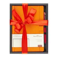 Набор подарочный Bruno Visconti Marseille (ежедневник оранжевый недатированный, ручка)
