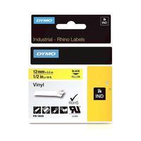 Картридж для принтера этикеток DYMO 750064 VNYL (12 мм x 5,5 м, цвет ленты желтый, цвет шрифта черный)
