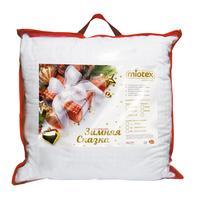 Подушка новогодняя Ol-tex Зимняя сказка 68х68 см холфитекс/микрофибра со стежкой