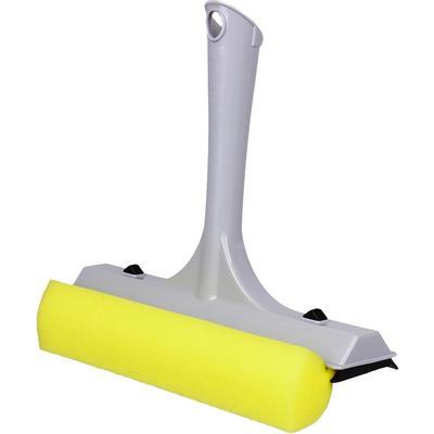 Сгон (склиз) для мытья окон Svip Квадра 21.5 см с губкой серый/черный/желтый