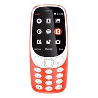 Мобильный телефон Nokia 3310 DS TA-1030 красный (A00028102)