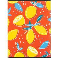 Тетрадь общая Attache Лимоны красные А4 96 листов в клетку на скрепке