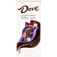 Шоколад Dove молочный с фундуком и изюмом 90 г