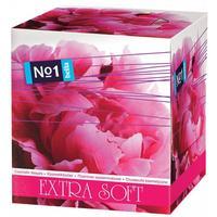 Носовые платочки бумажные Bella №1 2-слойные Extra Soft пиония (80 штук  в упаковке)