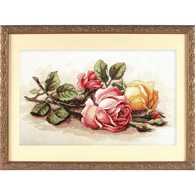 Набор для вышивания Dimensions Срезанные розы 36x23 см