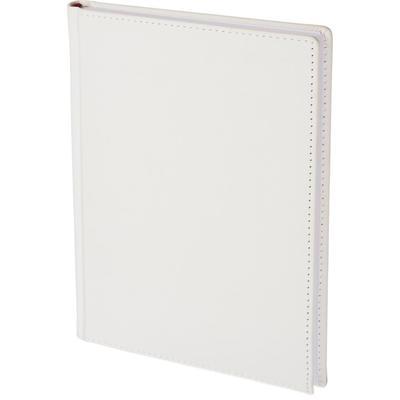 Ежедневник недатированный Attache Velvet искусственная кожа Soft Touch  A5+ 136 листов белый (146х206 мм)