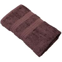 Полотенце махровое Perfection 50х80 см 550 г/кв.м темно-коричневое