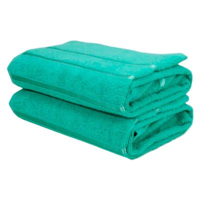 Полотенце махровое Belezza Орион 70х130 см 380 г/кв.м зеленое 5 штук в упаковке