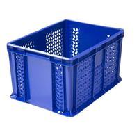 Ящик (лоток) универсальный из ПНД 400х300х230 мм синий
