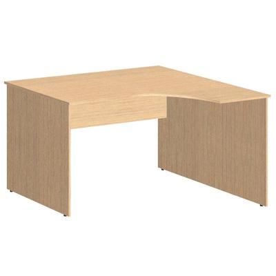 Стол эргономичный Simple SET140-1R правый (легно светлый, 1400x900x760 мм)