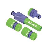 Набор для подключения шланга 1/2-3/4 дюйма Palisad 65176 (4 предмета)