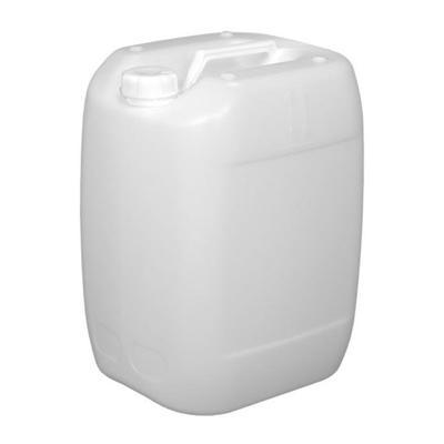 Канистра полиэтиленовая 300х250х520 мм 30 л белая с крышкой