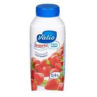 Йогурт питьевой Valio клубника 0.4% 330 г