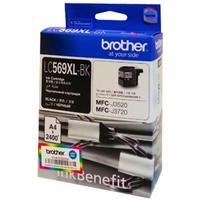 Картридж струйный Brother LC569XLBK черный оригинальный повышенной емкости