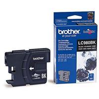 Картридж струйный Brother LC980BK черный оригинальный