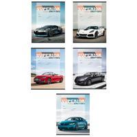 Тетрадь школьная Проф-пресс Престижное авто А5 18 листов в клетку (обложка в ассортименте)