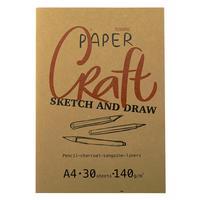 Папка для рисования и эскизов Kroyter Арт А4 30 листов