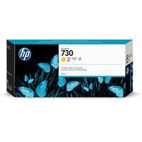 Картридж струйный HP 730 P2V70A желтый оригинальный