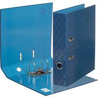 Папка-регистратор Комус Art Deco 75 мм синяя