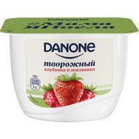 Продукт творожный Danone клубника-земляника 3.6% 170 г