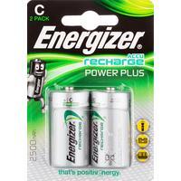 Аккумулятор С 2500 мАч Energizer Power Plus 2 штуки в упаковке Ni-Mh