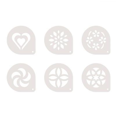 Формы-трафареты для капучино Tescoma myDrink пластиковые (артикул производителя 308850)