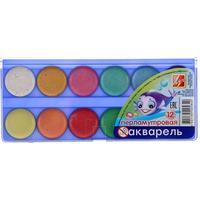 Акварельные краски Луч медовые с перламутровым эффектом 12 цветов