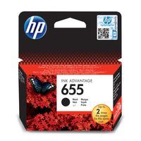 Картридж струйный HP 655 CZ109AE черный оригинальный
