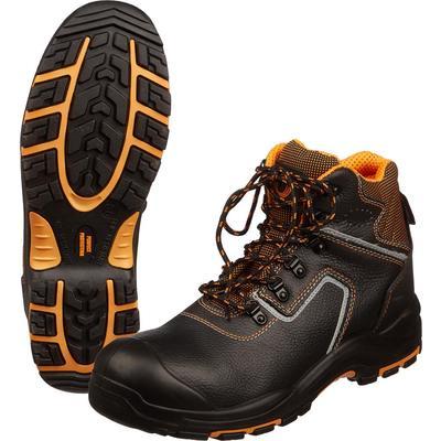 Ботинки Perfect Protection натуральная кожа черные размер 45
